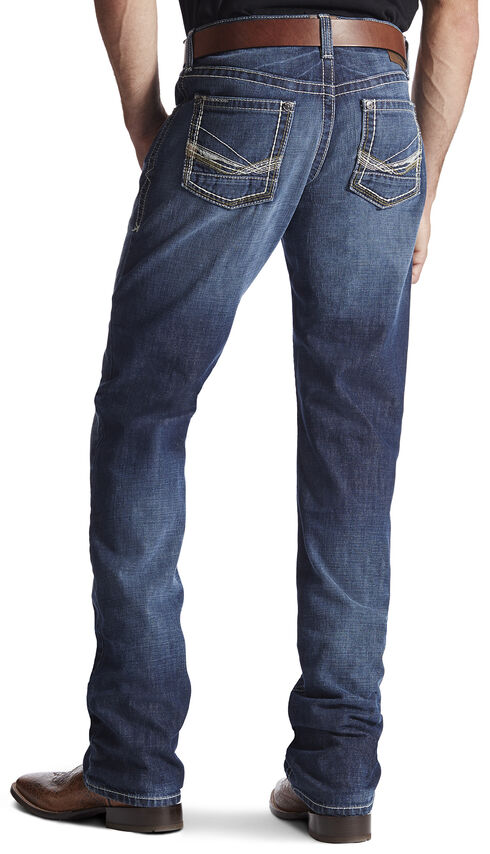 Ariat Men's M2 Strongman Cadet Bootcut Jeans, Denim, hi-res