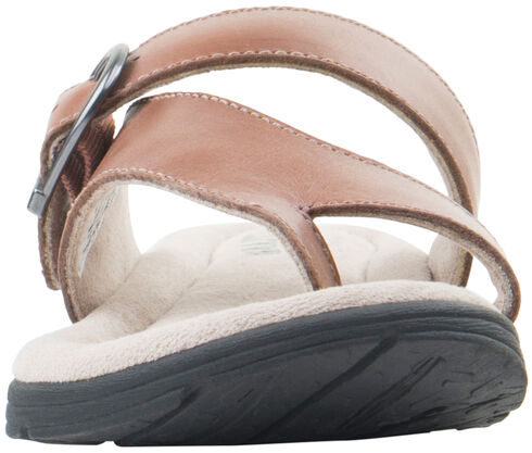 Eastland Women's Tan Tahiti II Thong Sandals  , Tan, hi-res