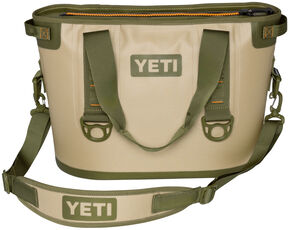 YETI Hopper 20 Soft Side Cooler, Tan, hi-res