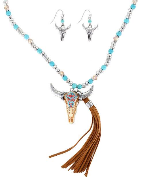 Shyanne Women's Skull Jewelry Set, Multi, hi-res