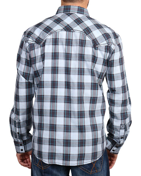 Moonshine Spirit Men's Plaid Long Sleeve Shirt, Multi, hi-res