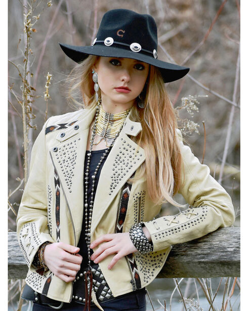Tasha Polizzi  Women's Durango Jacket, Cream, hi-res