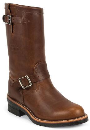 Chippewa Boot Company Renegade Engineer Boots - Round Toe, Tan, hi-res