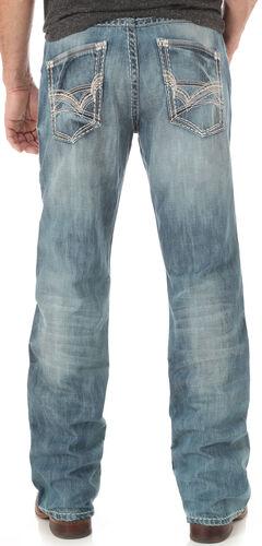 Wrangler Rock 47 Men's Tune Slim Bootcut Jeans, , hi-res