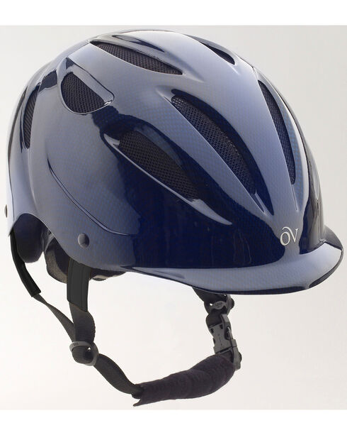 Ovation Women's Protege Riding Helmet, Navy, hi-res