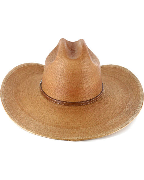 Larry Mahan Men's 30X Saltillo Palm Cowboy Hat, Natural, hi-res