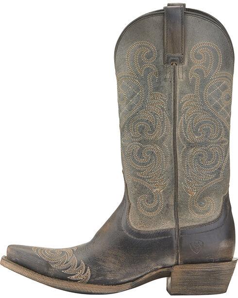 Ariat Bright Lights Cowgirl Boots - Snip Toe, Black, hi-res
