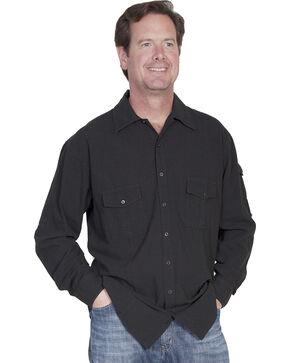 Scully Cantina Gusseted Pocket Shirt, Black, hi-res