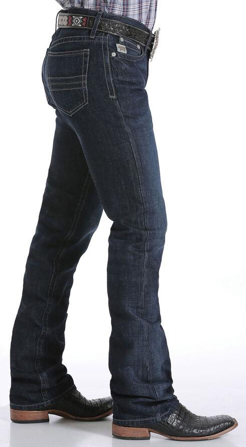 Cinch Men's Indigo Mid-Rise Dark Stonewash Ian Jeans - Boot Cut, Indigo, hi-res