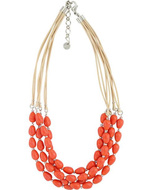 Montana Silversmiths Women's Sunset Quartet Necklace , Silver, hi-res
