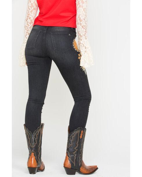 MM Vintage Women's Charlotte Skinny Jeans , Black, hi-res
