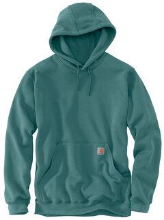 Carhartt Hooded Sweatshirt - Big & Tall, Teal, hi-res