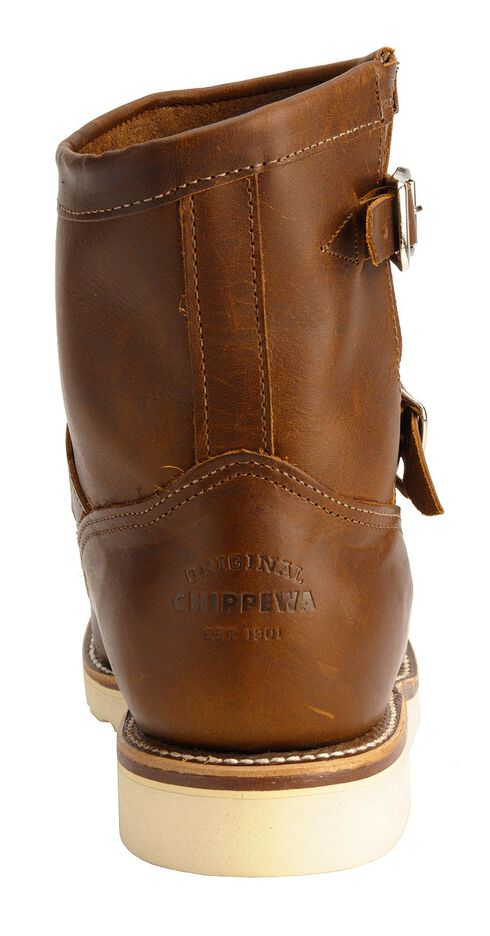 Chippewa Renegade Highlander Harness Boots - Round Mocc Toe, Tan, hi-res