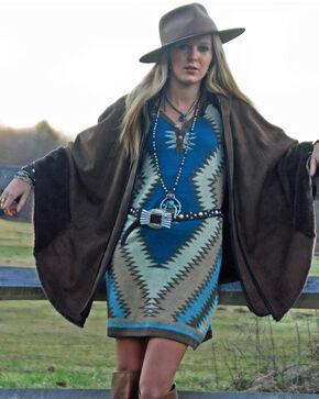 Tasha Polizzi Women's Shavano Blanket Dress, Blue, hi-res