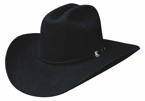 Bullhide Ruidoso 6X Premium Wool Cowboy Hat, Black, hi-res