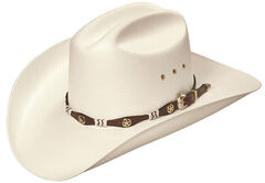 """Master Hatters Captain Low Cattleman 4"""" Pro Rodeo 20X Cowboy Hat, Natural, hi-res"""