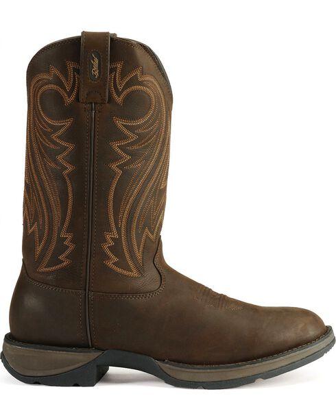 Durango Rebel Cowboy Boots, Chocolate, hi-res