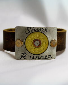 SouthLife Supply Shine Runner Plated Cuff with Traditional Gold Shotshell, Gold, hi-res
