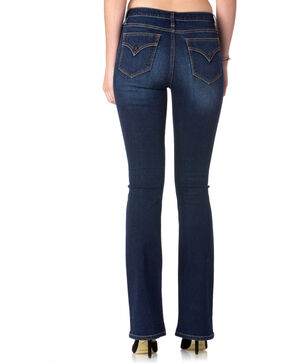 Miss Me Women's Indigo Stand Tall High-Rise Jeans - Boot Cut , Indigo, hi-res