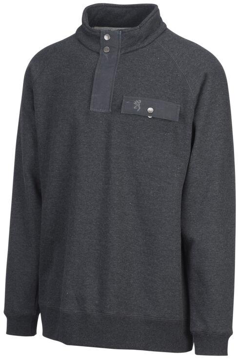 Browning Men's Black Boulder Sweatshirt, Black, hi-res