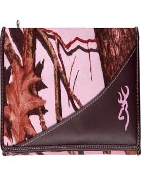 Browning Women's Pink Camouflage Wallet , Camouflage, hi-res