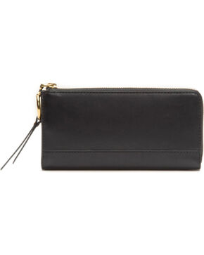 Frye Women's Ilana Harness L Zip Wallet , Black, hi-res