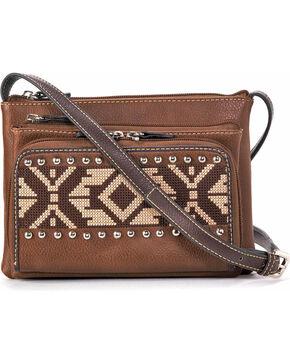 Blazin Roxx Women's Shania Crossbody Bag, Brown, hi-res