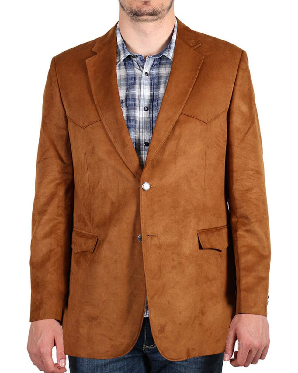 Cody James Men's Brown Sport Coat , Rust Copper, hi-res