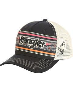 Wrangler Men's Wordmark Cap , Black, hi-res