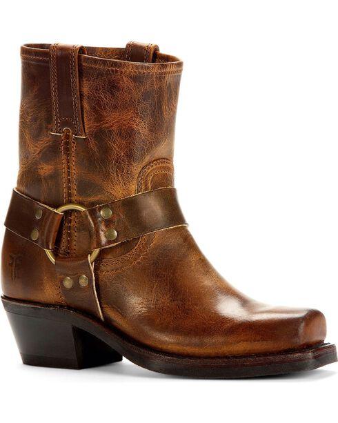 Frye Women's Harness 8R Boots, Dark Brown, hi-res
