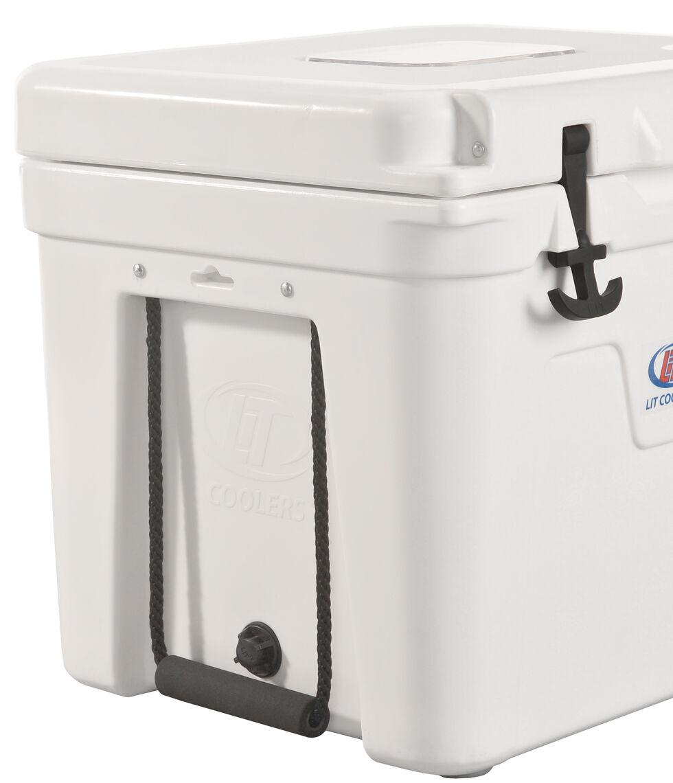 LiT Coolers Halo TS 400 White Cooler - 32 Quart, White, hi-res