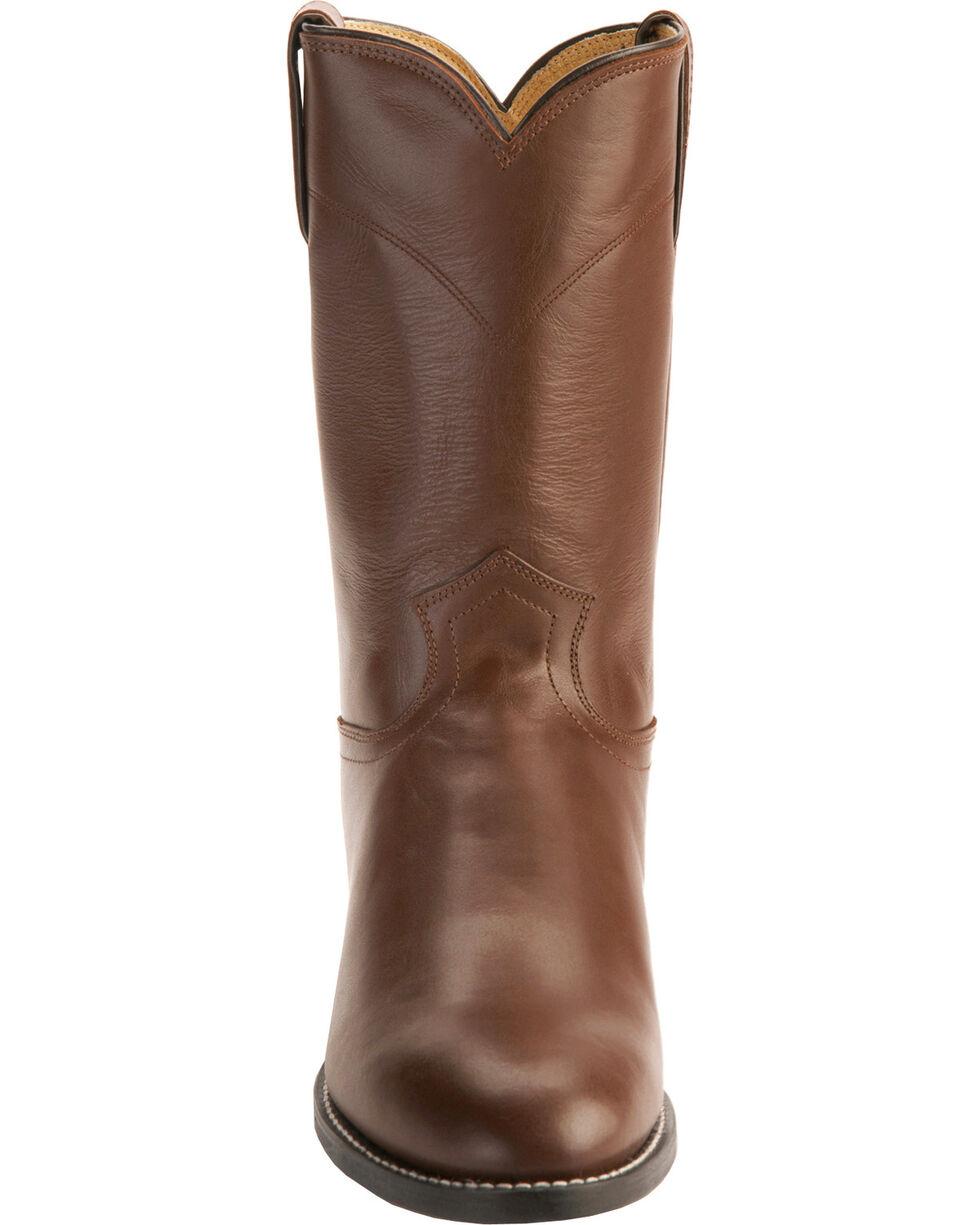 Justin Classic Roper Boots - Round Toe, Tan, hi-res