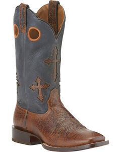 Ariat Ranchero Cowboy Boots - Wide Square Toe, , hi-res