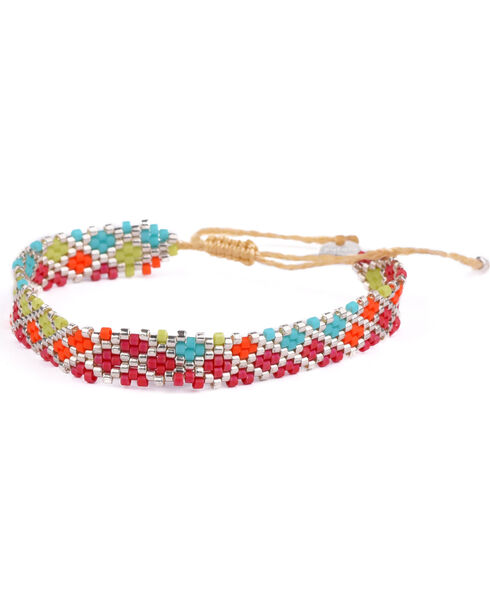 Kutula Kiss Women's Red Small Lil Lil Buzz Bracelet , Red, hi-res