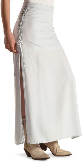 Tasha Polizzi Blue Women's Concert Skirt, Blue, hi-res