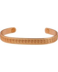 Sabona Men's Copper Rope Magnetic Wristband, Copper, hi-res