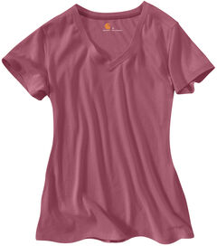 Carhartt Women's Calumet V-Neck T-Shirt, , hi-res