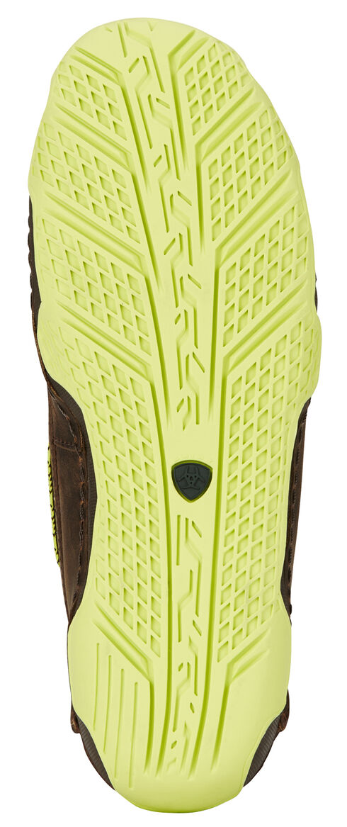 Ariat Women's Brown Caldwell Cross Boat Shoes , Brown, hi-res