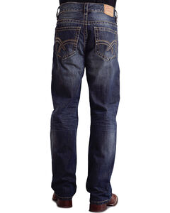 "Stetson Modern Fit Curved ""X"" Stitched Jeans - Big & Tall, , hi-res"