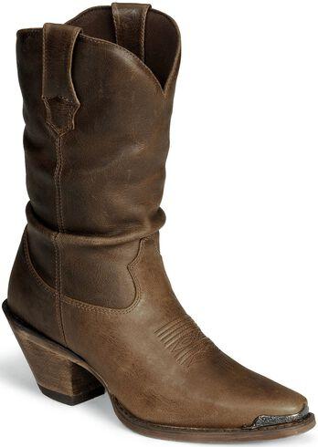 Durango Women S Crush Distressed Slouch Boots Snip Toe