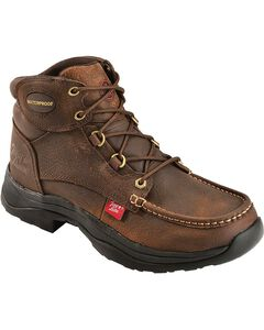 Tony Lama 3R Waterproof Lace-Up Casual Boots - Round Toe, , hi-res