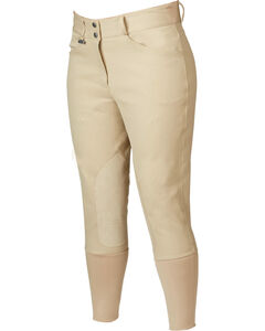 Dublin Everyday Signature Euro Seat Front Zip Breeches, , hi-res