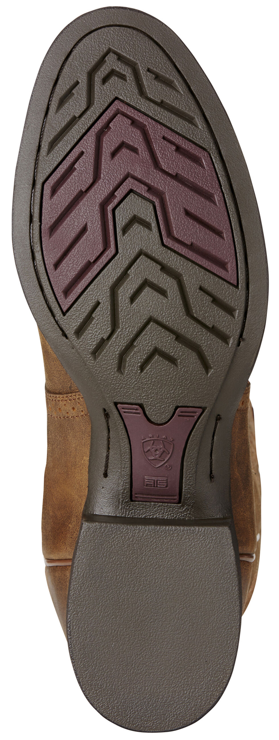 Ariat Men's Brown Heritage Hackamore Boots - Round Toe, Brown, hi-res
