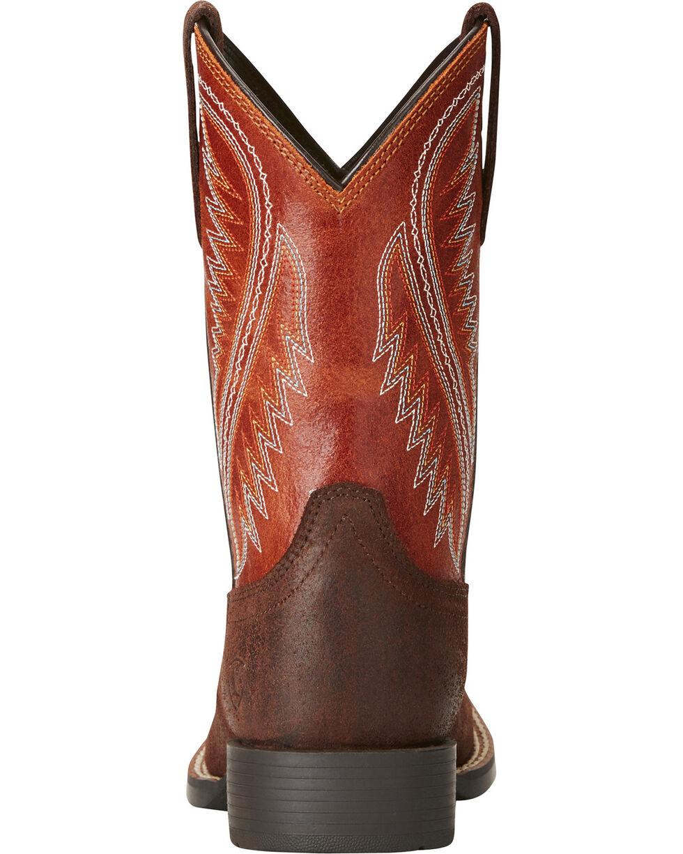 Ariat Boys' Hoolihan Alamo Cowboy Boots - Square Toe, , hi-res