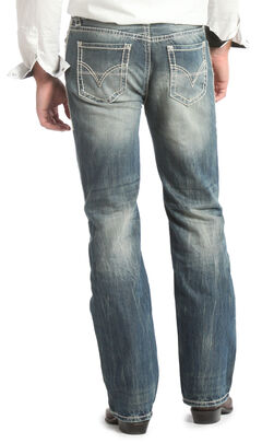 Rock & Roll Cowboy Double Barrel Straight Leg Relaxed Fit Jeans, , hi-res
