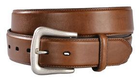 Basic Leather Belt, Brown, hi-res