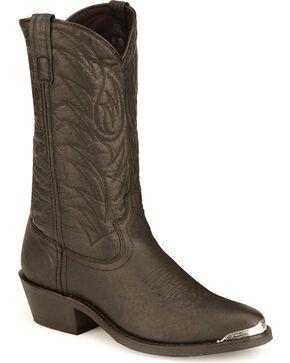 Laredo Trucker Boots - Round Toe, Black, hi-res