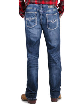 Rock & Roll Cowboy Men's Blue Pistol Jeans - Straight Leg , Blue, hi-res