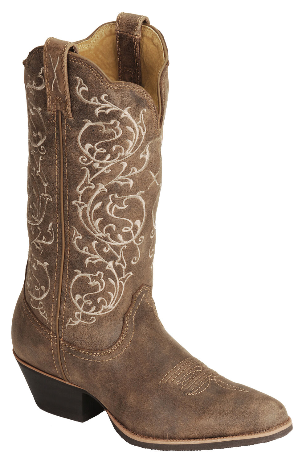 Twisted  X Fancy Stitched Cowgirl Boots - Medium Toe, Bomber, hi-res