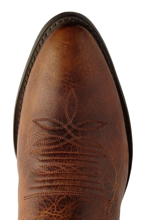 Justin Traditional Leather Western Cowboy Boots - Medium Toe, , hi-res